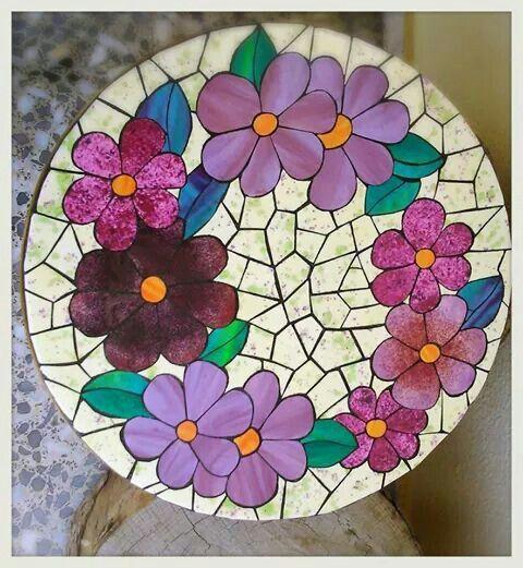 Tornamesa mosaico