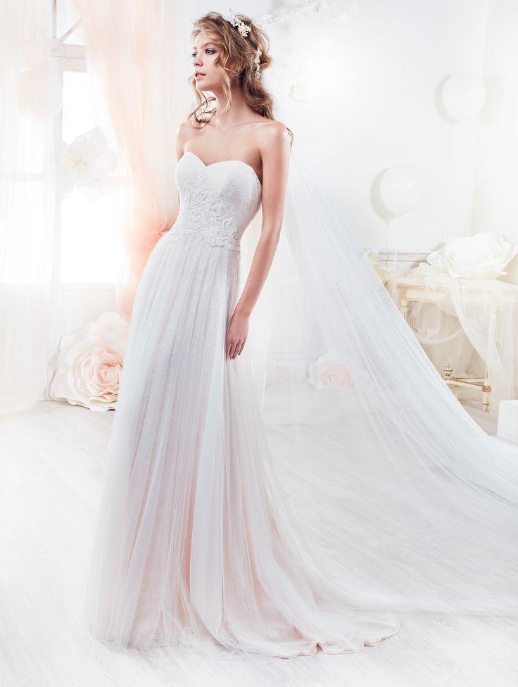 Moda sposa 2018 - Collezione COLET.  COAB18208. Abito da sposa Nicole.