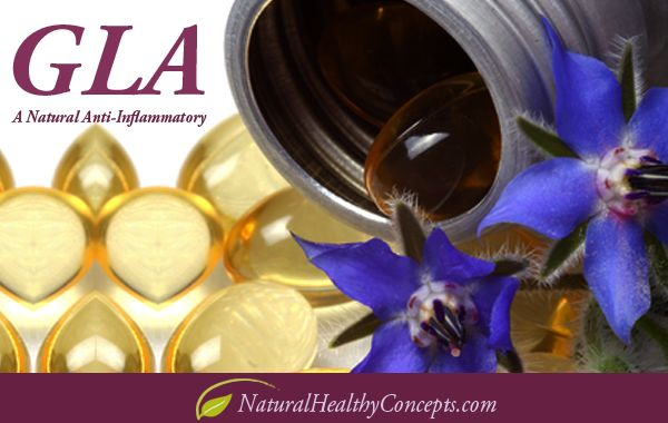 GLA - Omega 6 Fatty Acid - A Natural Anti-Inflammatory