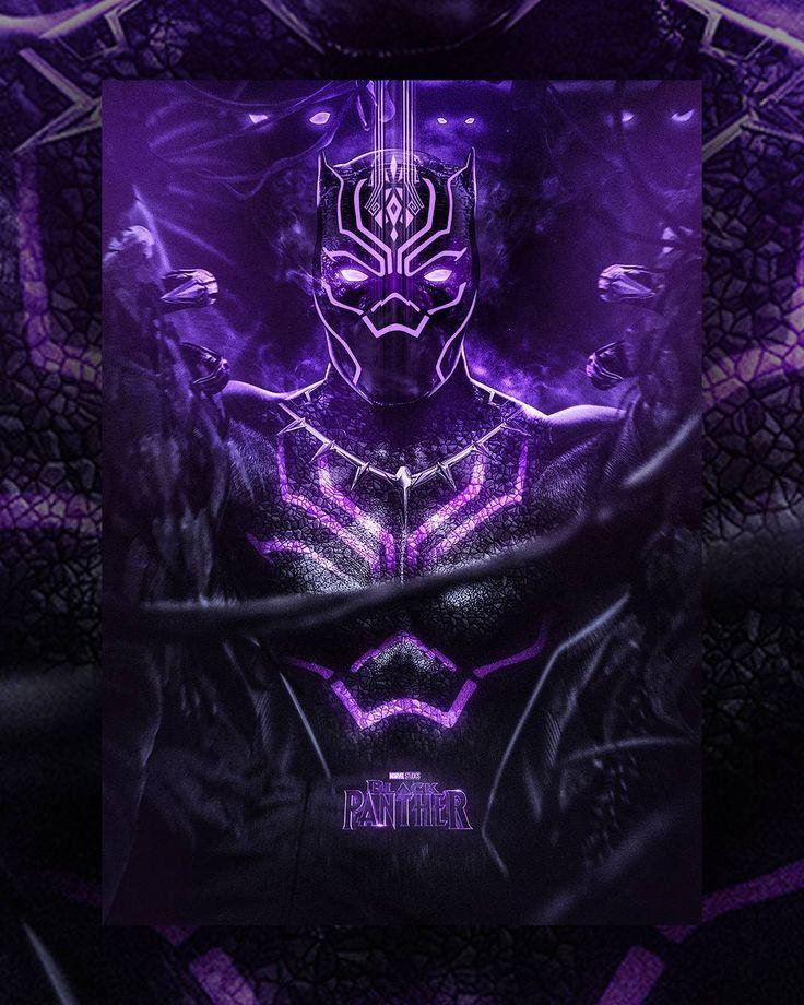 Black Panther: Purple   BLACK PANTHER - O Soberano das ...