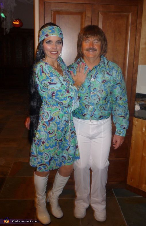 Sonny and Cher - 2013 Halloween Costume Contest via @costumeworks
