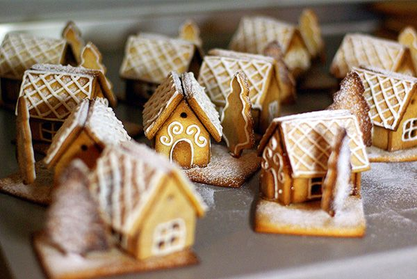 Mini-Lebkuchenhaus - ПРЯНИЧН ДОМИК рецепт - gingerbread house. пряничный домик