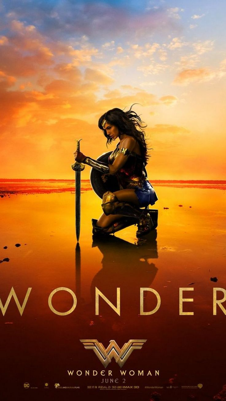 Wonder Woman Movie iPhone Wallpaper