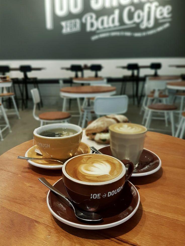 """Cappuccino, Latte, & Tea"", Joe & Dough, Singapore"
