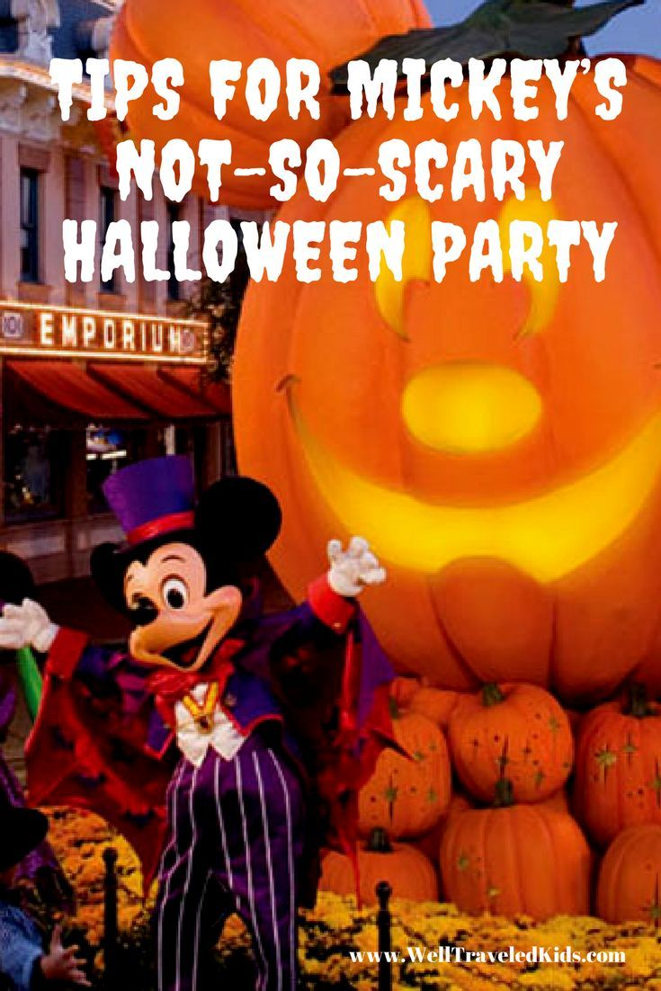 Ultimate list of tips for your family Disney vacation to Mickey's Not-So-Scary Halloween Party!