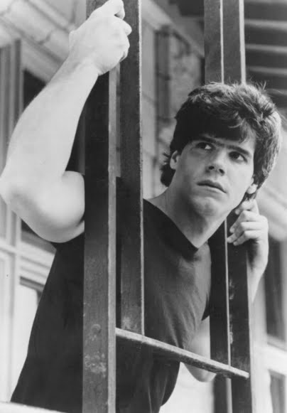 Craig Sheffer...esp. in 'Fire With Fire'. One of my fave '80s bad boys.