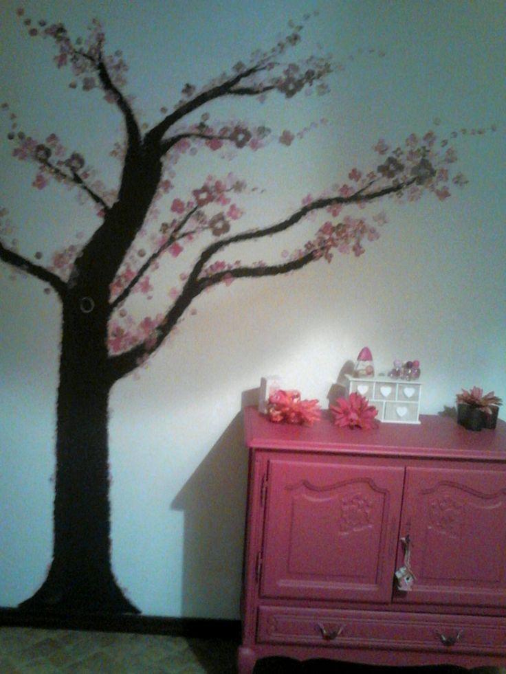 25 beste idee n over grote meid slaapkamers op pinterest meisjeskamer grote meid kamers en - Schilderij slaapkamer meisje ...