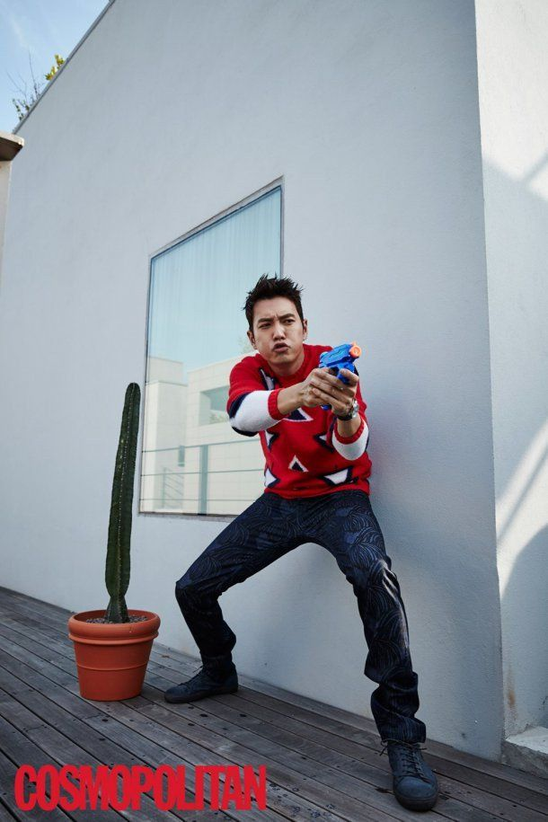 Joo Sang Wook channels his inner child in fun shoot with 'Cosmopolitan'…