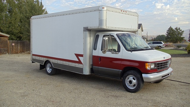Former Uhaul box truck used for storing valuable collectors & antique cars.