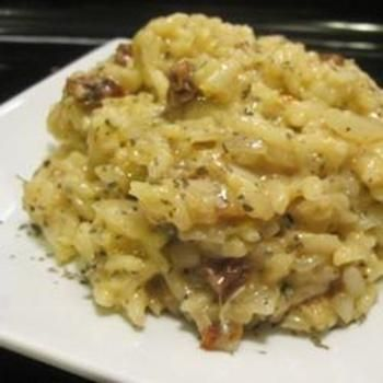Risotto with Sun-Dried Tomatoes and Mozzarella: Dinner, Cook, Side Dishes, Risotto, Sun Dried Tomatoes, Food, Mozzarella Recipe, Allrecipes Com, Sundried