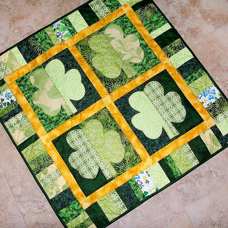 Happy St. Patrick's Day! Have fun celebrating with these fun green quilts! Visit the Craftsy Blog for a closer look at these fun patterns and projects!