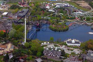 Parc d'attraction Heidepark Soltau en Basse-Saxe