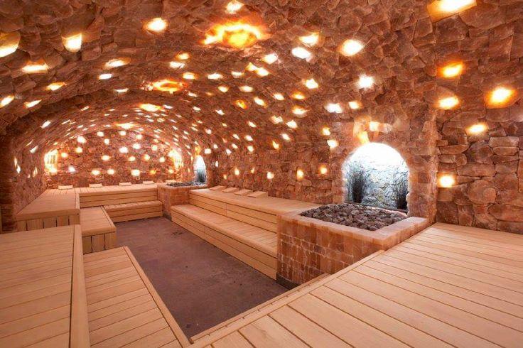 Salt sauna in Den Bosch, The Netherlands, super nice one.