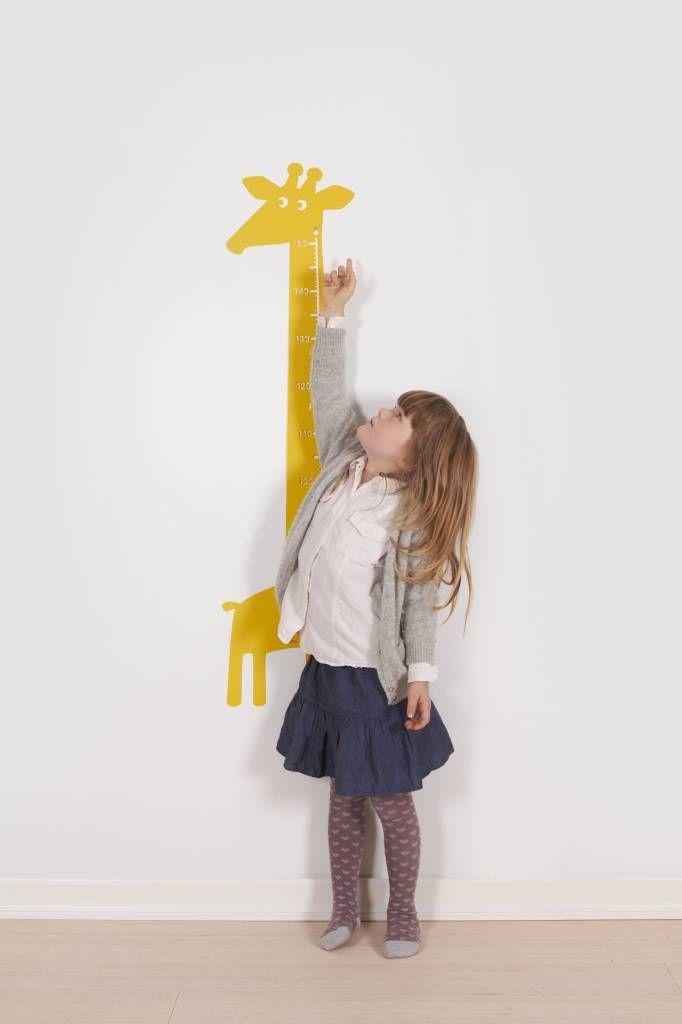 Roommate ♥ Meetlat ♥  Giraffe ♥  Geel ♥   Bestel snel!