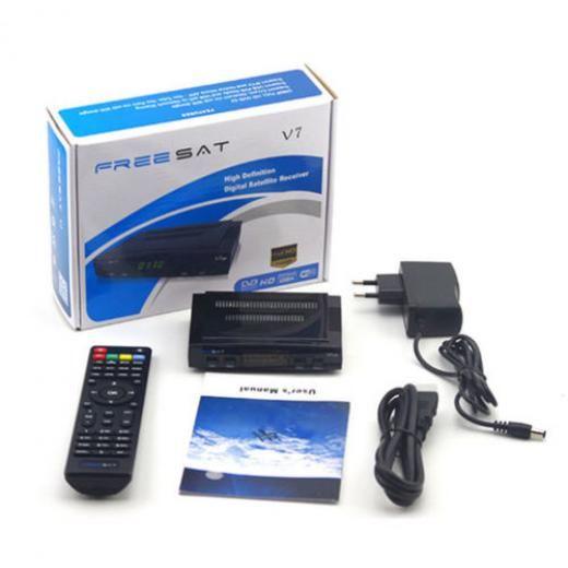 Satellite Tv Receiver Freesat V7 Hd Dvb-s2 1080p Set Top Box Support Usb Wifi Set-top Boxes 190050329272
