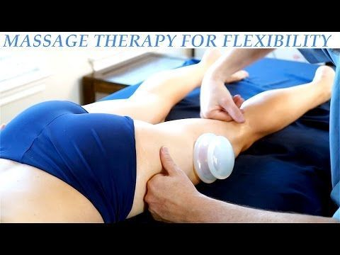 Hip & Glute Massage Therapy for Legs, Cupping, Sports Massage | HD Advanced Body Work Techniques - YouTube