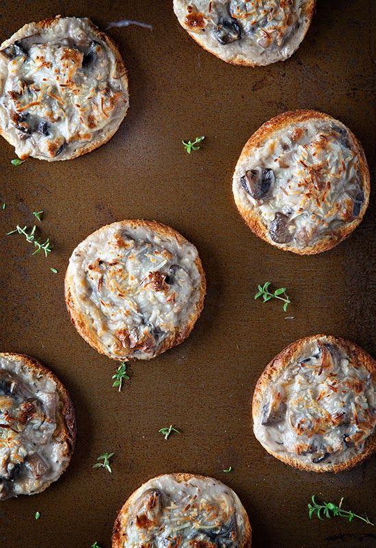 Receta 50: Pan de molde con champiñones, bechamel y queso rallado » 1080 recetas de cocina, de Simone Ortega