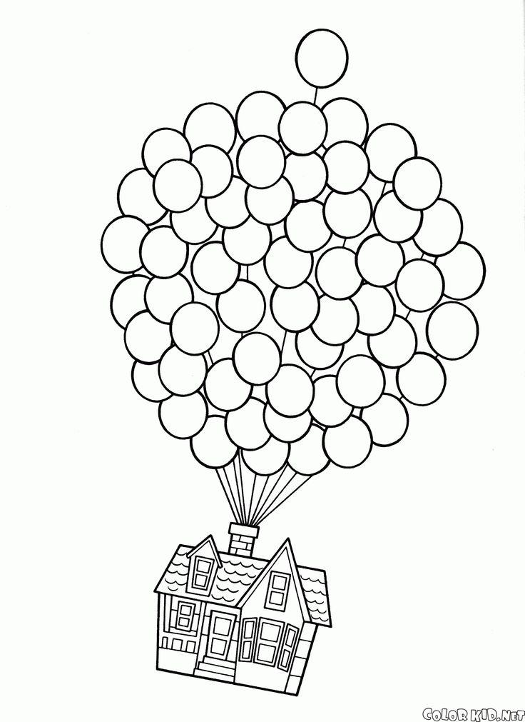 Ponpon Yapıştırma Etkinliği Için Boyama Sayfaları Okul öncesi