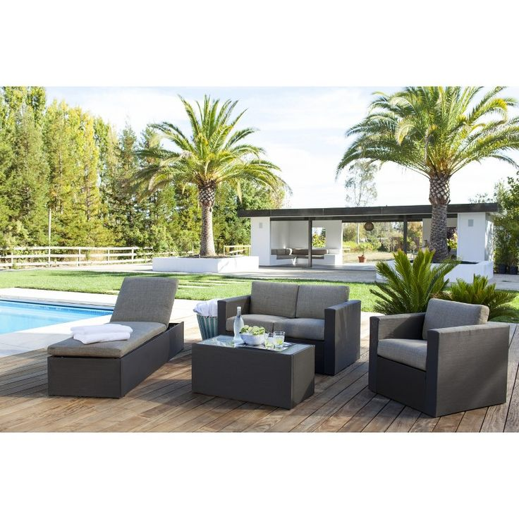 Threshold™ Lowry Upholstered Patio Furniture Collection