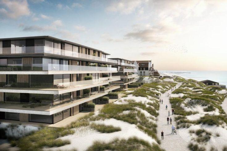 """Nach dem Bau des Jachthafens und der Dünenerhöhung werden die Modernisierungsmaßnahmen in Cadzand-Bad fortgesetzt: Neue Appartementkomplexe wie das """"Badhuis"""", die """"Villa Deauville"""", die """"Villa Normandy"""" oder die """"Superior Residence CDZND"""" entstehen, die 3- und 4-Sterne-Hotels """"De Blanke Top"""", """"Strandhotel"""", """"De Schelde"""", """"Beach Hotel & Spa Noordzee"""" und """"de Wielingen"""" passen sich der Zeit an, renovieren, …"""