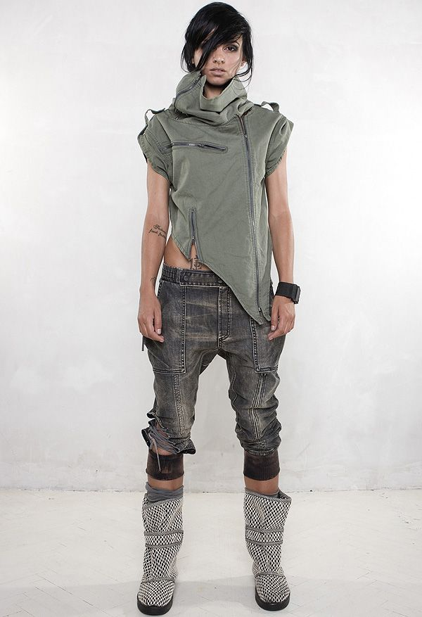 Minimal Futuristic Collection AW 2012 Demobaza