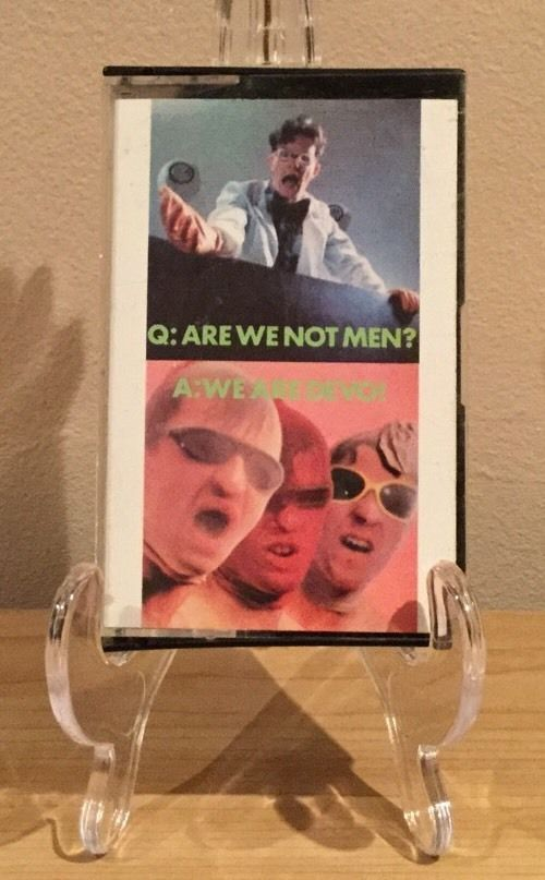 Devo - Q. Are We Not Men? A. We Are Devo Cassette Punk New Wave Electronic  | eBay