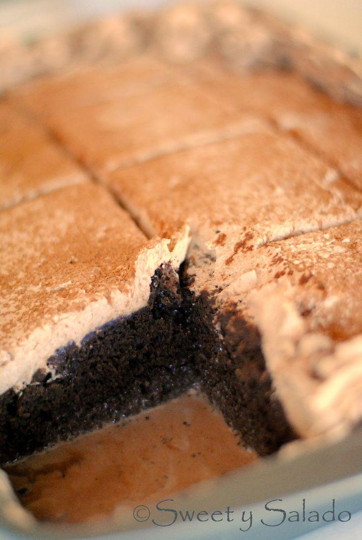 Chocolate Tres Leches Cake // Torta de Tres Leches de Chocolate