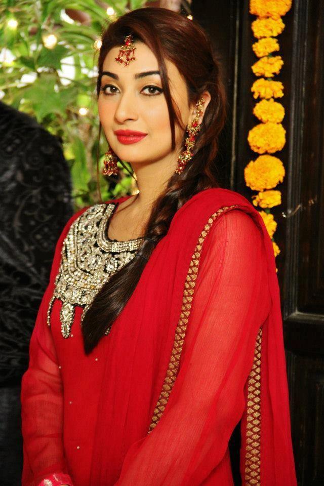 Pakistani tv actress Ayesha Khan