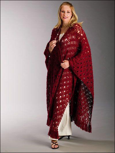 617 Best Crochet Wraps Images On Pinterest Crochet