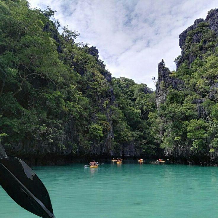 Island hopping in El Nido #Palawan #Philippines