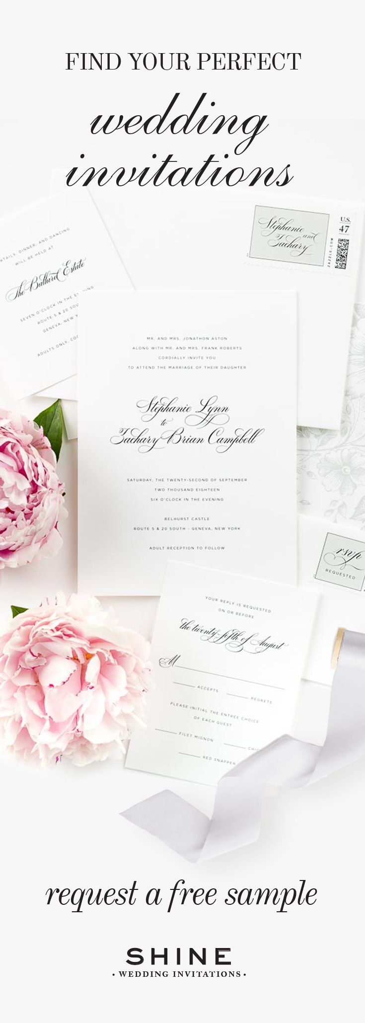 Find your perfect wedding invitations!