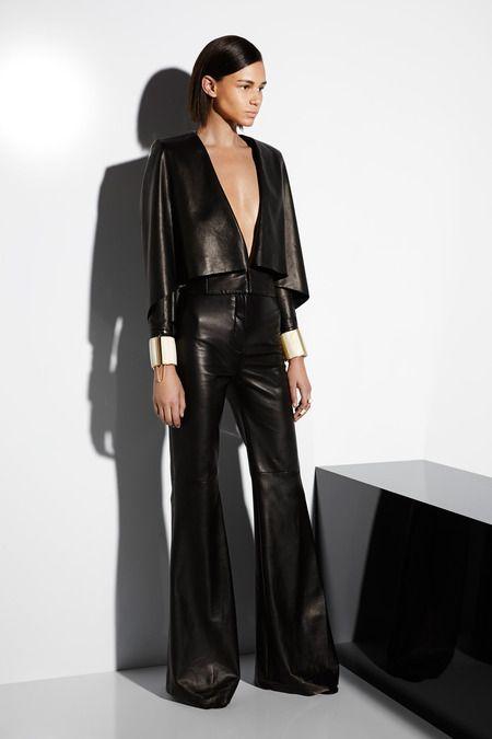 Balmain | Cruise/Resort 2015 Collection via Designer Olivier Rousteing | Modeled by Binx Walton | July 7, 2014; Paris | Style.com