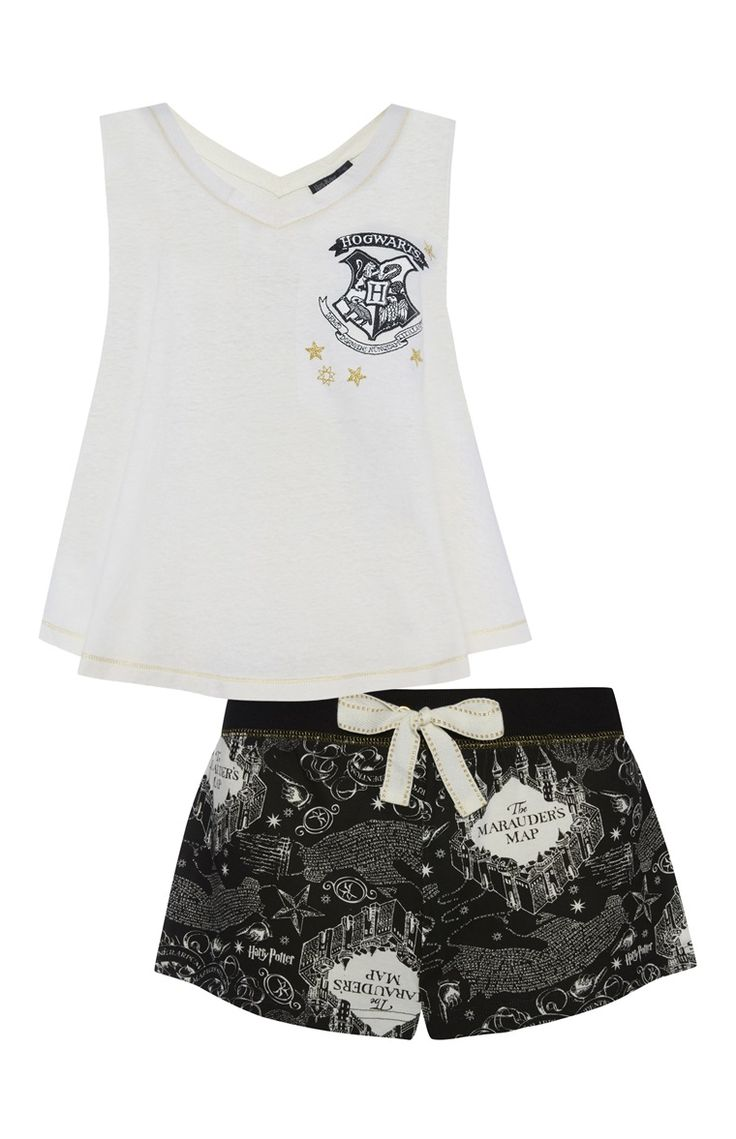 Harry Potter Marauders Map PJ Set