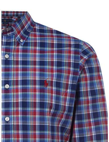 Slim Fit Hemd mit Button-Down-Kragen Polo Ralph Lauren online kaufen - 1