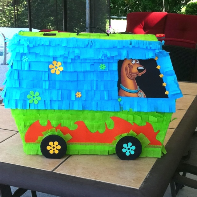 Scooby Doo Pi 241 Ata Quot The Mystery Machine Quot Craft Ideas