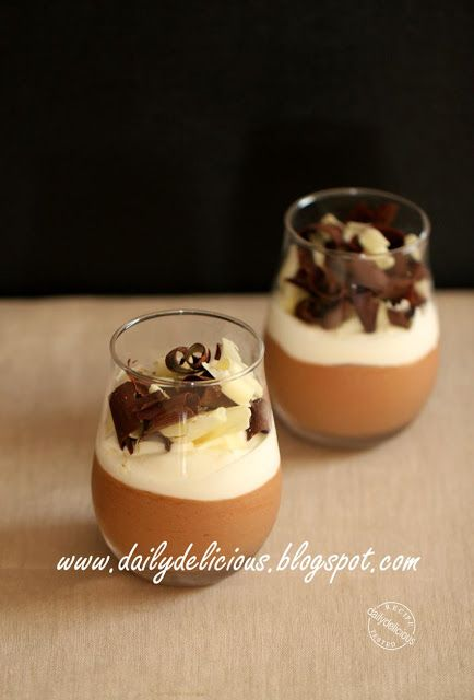Chocolate mascarpone mousse