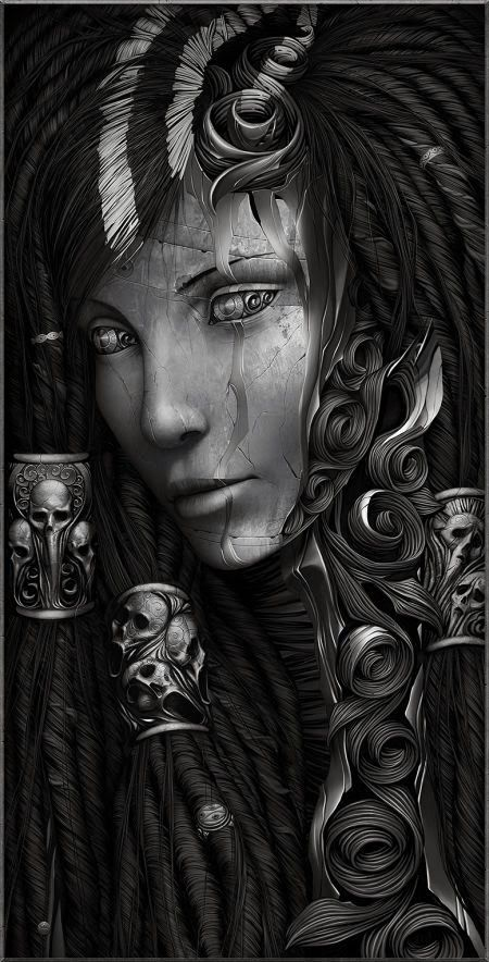 As impressionantes e sombrias ilustrações fantásticas de Alexander Fedosov