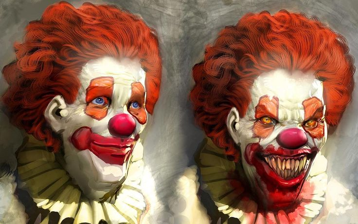 Scary Clowns | Scary Clown Wallpaper with 1440x900 Resolution