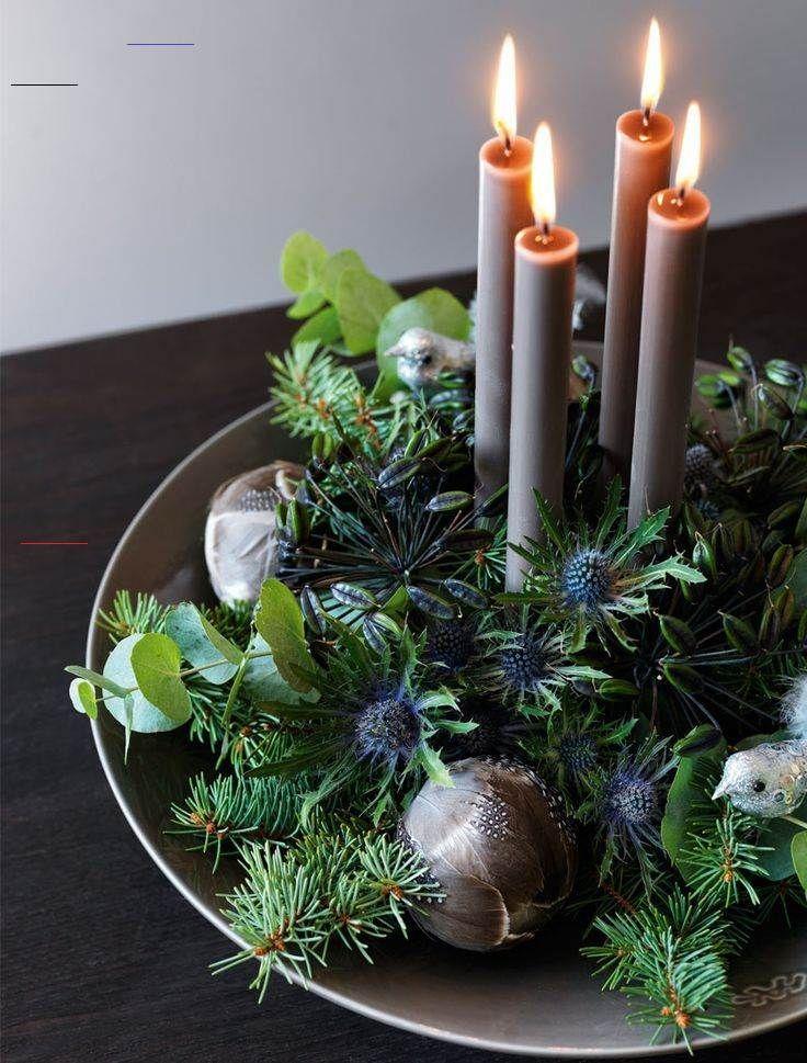 Advent DIY l Adventskranz zu Weihnachten basteln