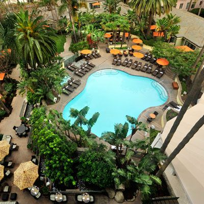 Fairmont Miramar Hotel & Bungalows - Our Favorite California Hotels - Coastal Living