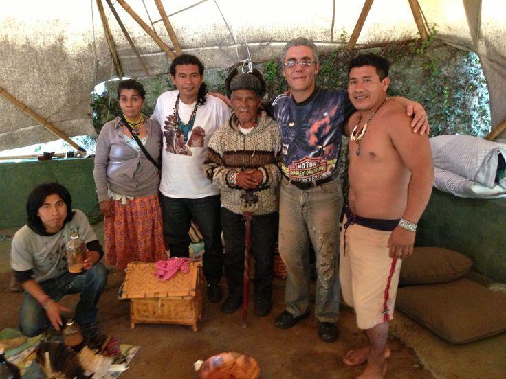 Família Tupi Guarani - Cacique e Pajé