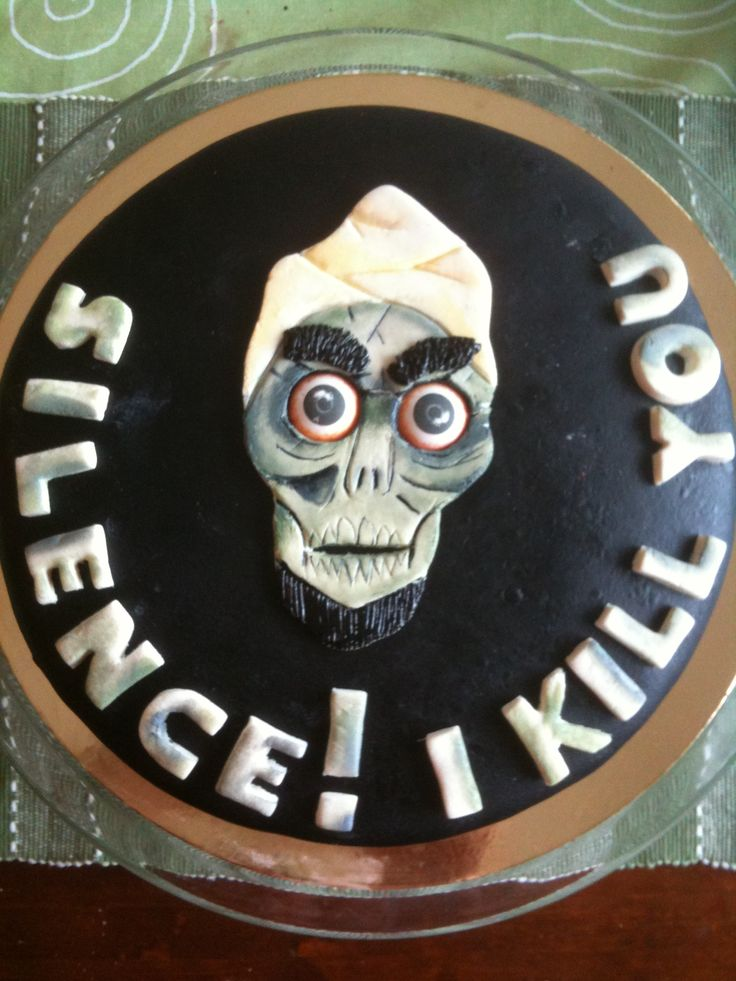 18 best cakes jeff dunham images on pinterest jeff for Achmed the dead terrorist halloween decoration