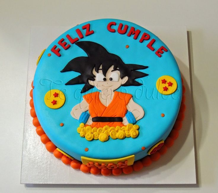 Birthday Cakes Images, Dragon Ball Z Cake Dragonball On Central Tortas De Buscar Con Google Elegance: Toppers