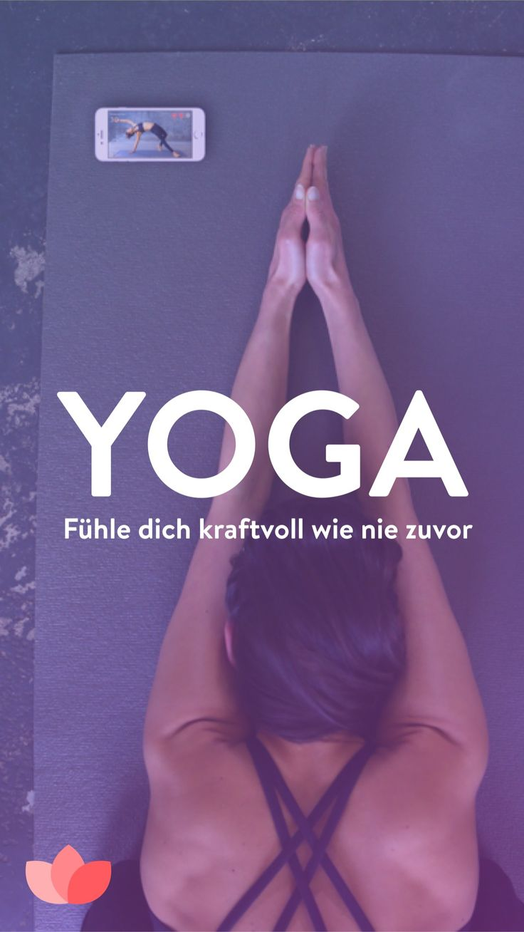 Yoga App Smartphone