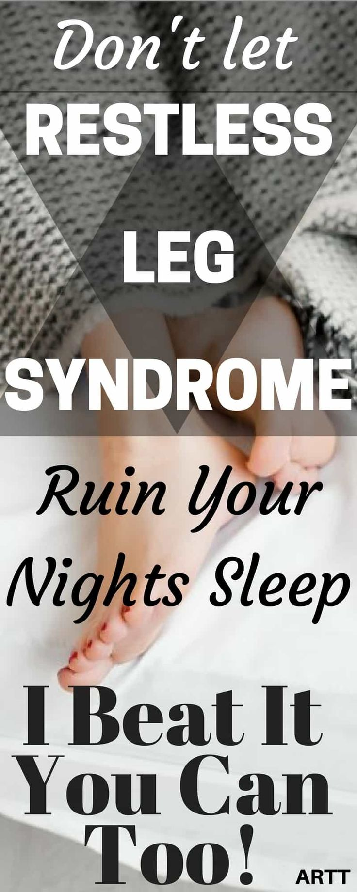 Relief from Restless Leg Syndrome Symptoms | Don't Let RLS Ruin Your Night's Sleep | restless leg syndrome | restless leg syndrome remedies | restless leg syndrome essential oils | restless leg syndrome symptoms | restless leg syndrome relief | aroadtotravel.com