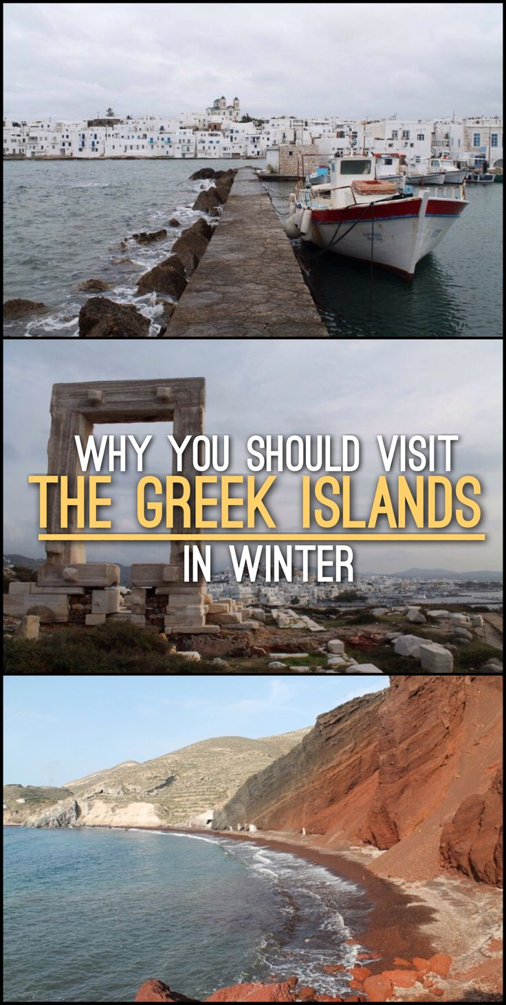 Have you considered visiting the Greek islands in winter? Greece is a great…
