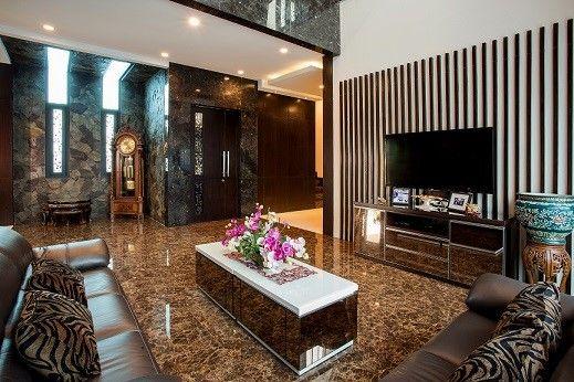 Inspirasi desain interior ruang tamu menawan dan mewah | Portofolio By : DX Interior (Interior Designer di Sejasa.com)