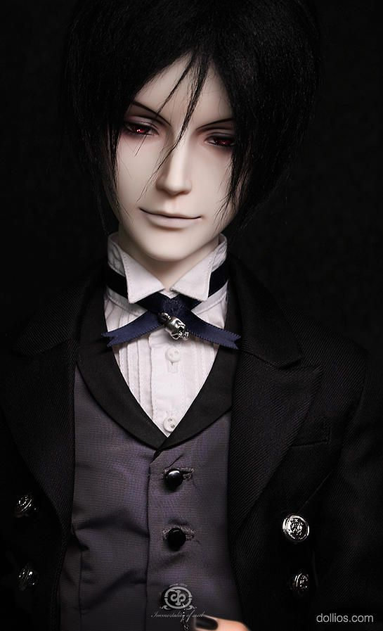 Immortality of Soul's upcoming Black Butler BJD release- Sebastian Michaelis, likely to be available some time winter 2015/16, Northern Hemisphere season wise.