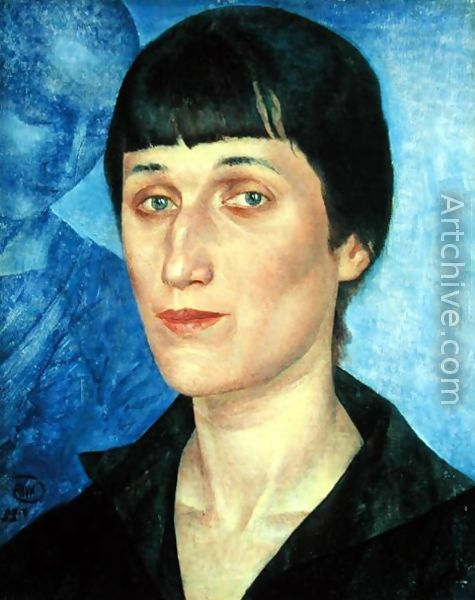 Russian Anna Andreevna Akhmatova 110