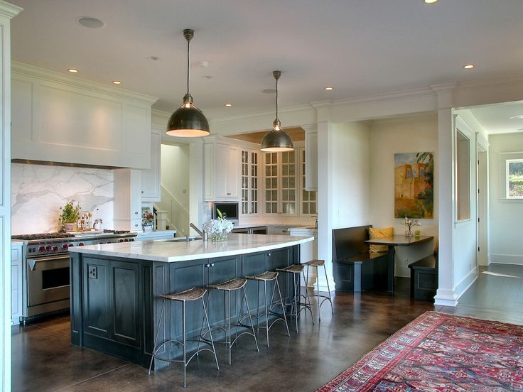 324 best images about modern farmhouse cottage design on for Booth kitchen island